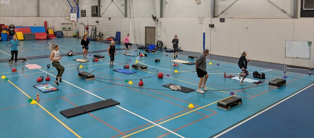 New Group Fitness Timetable