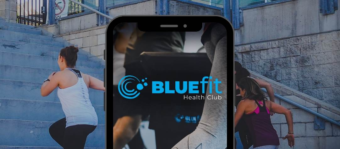 How to use the BlueFit Health Club App